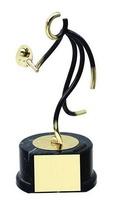 Trofeo padel latón jugador