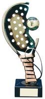 Trofeo padel raqueta y pelota