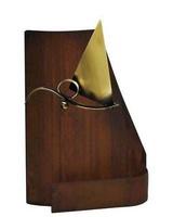Trofeo para Vela realizado en metal acabado oxido