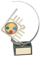 Trofeo parchís artesanal