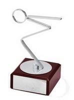 Trofeo peana madera Laton Natacion