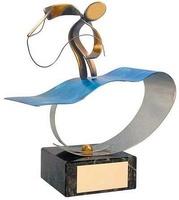 Trofeo pesca pescador