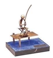 Trofeo pesca pescador pescando