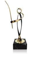 Trofeo pescador de laton