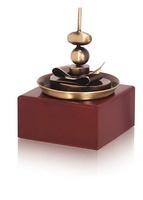 Trofeo pincho tipico realizado en metal