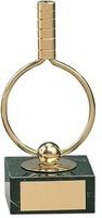 Trofeo ping pong pala hueca