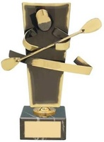 Trofeo piragüismo latón