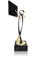 Trofeo profesor de latón