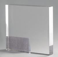 Trofeo rectangular plata modelo Guadalajara
