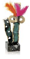 Trofeo roset de mascara de carnaval