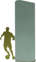 Trofeo silueta de metal para futbol