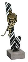 Trofeo silueta jugador Hockey Agata