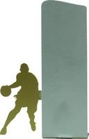 Trofeo silueta metal de baloncesto