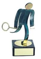 Trofeo squash latón