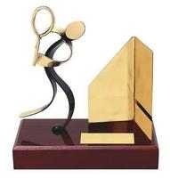 Trofeo squash peana madera