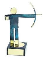 Trofeo tiro con arco tirador