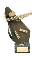 Trofeo tiro escopeta caza cartucho y escopeta