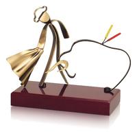 Trofeo torero de latón