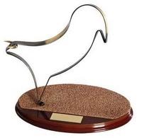 Trofeo toros latón