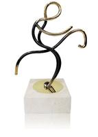 trofeo latón de hipica